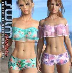 SWIM Couture for dForce Off Shoulder Bikini