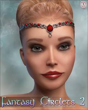 Fantasy Circlets 2 for POSER La Femme