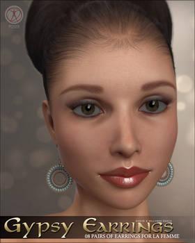 Gypsy Earrings for POSER La Femme