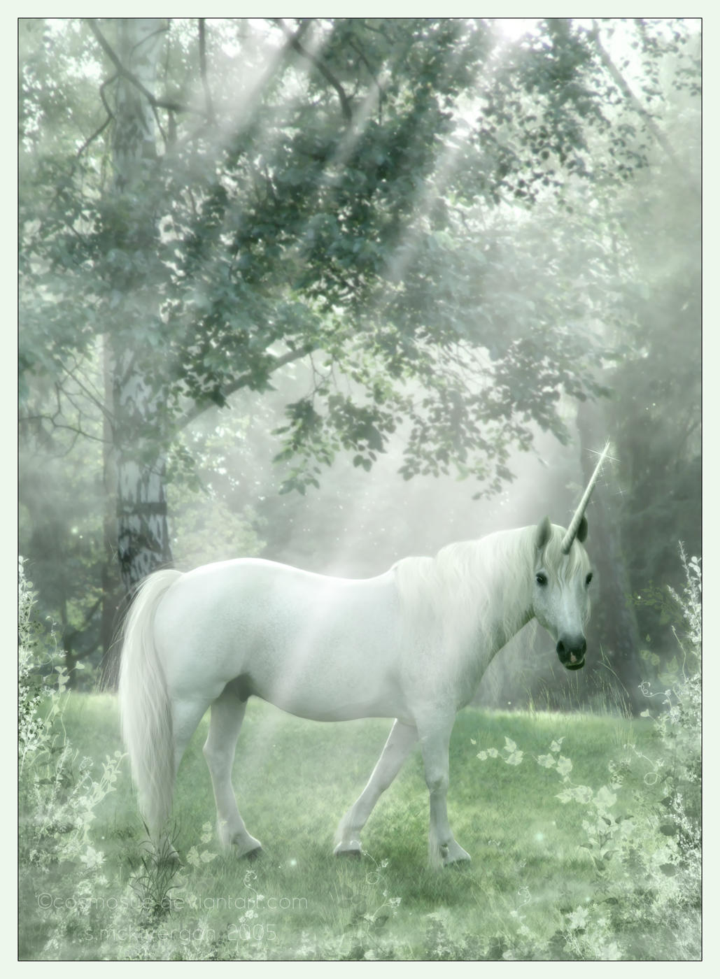 IMAGES TO NOURISH THE SPIRIT AND TOUCH THE HEART - Page 8 Woodland_Myth_by_cosmosue