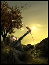 Elven Archer by cosmosue