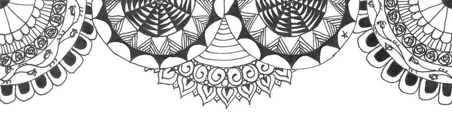 Resultado de imagen para ZENTANGLE ART header tumblr