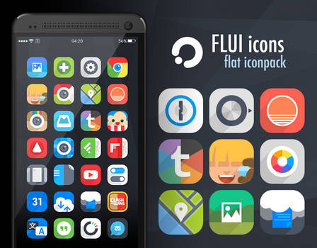 Flui icons 1.3 (Google Play)