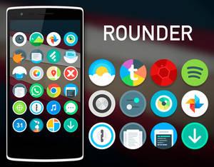 Rounder L iconpack (Google Play)
