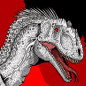 Jurassic Park Indominus Rex By Hellraptor-d894mjq  by Asuma17