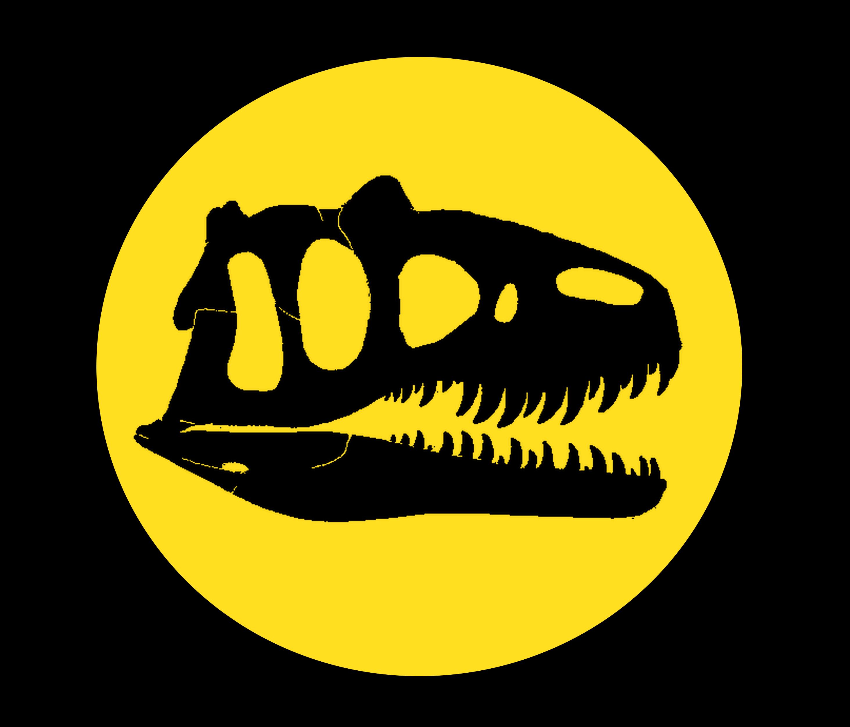 Jurassic Park Logo: Allosaurus. ferox