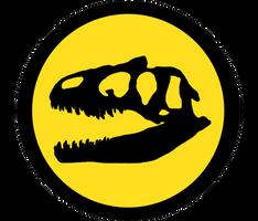 Jurassic Park Logos: Allosaurus. fragilis