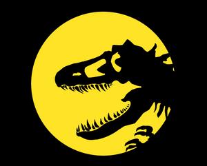 Jurassic Park Logo - Tyrannosaurus Rex [V.1]