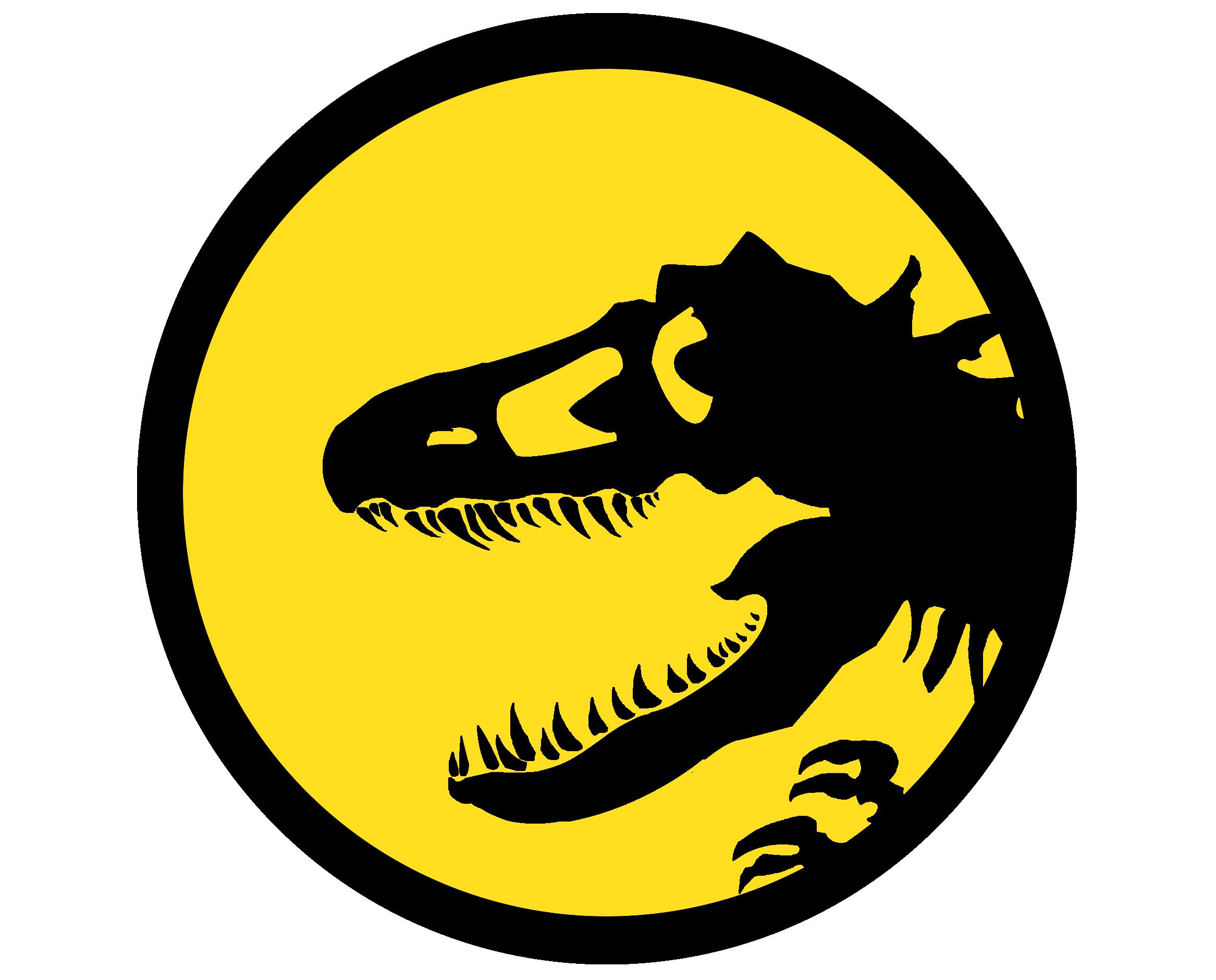 Yellow Jurassic Park Car