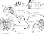 Dilophosaurus. crotalusi