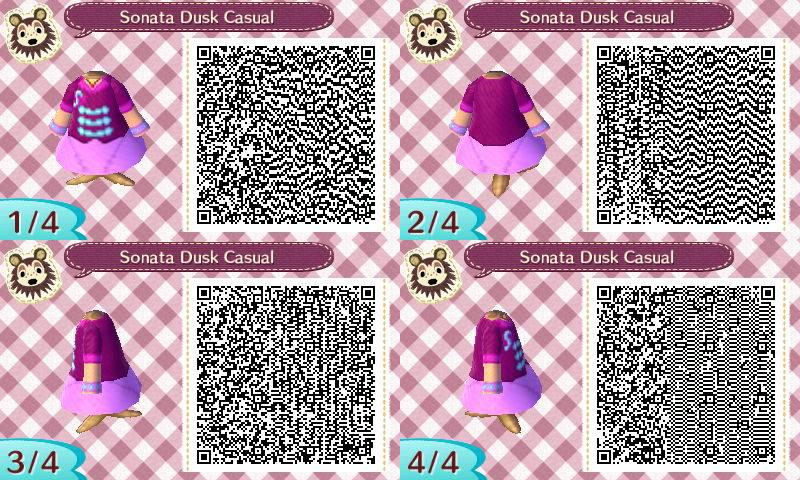 Animal Crossing: New Leaf Sonata Dusk Casual QR by renaxakai