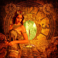 Queen of Time by RReddVar