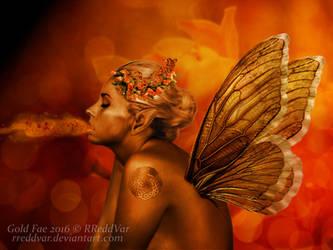 Gold Fae by RReddVar