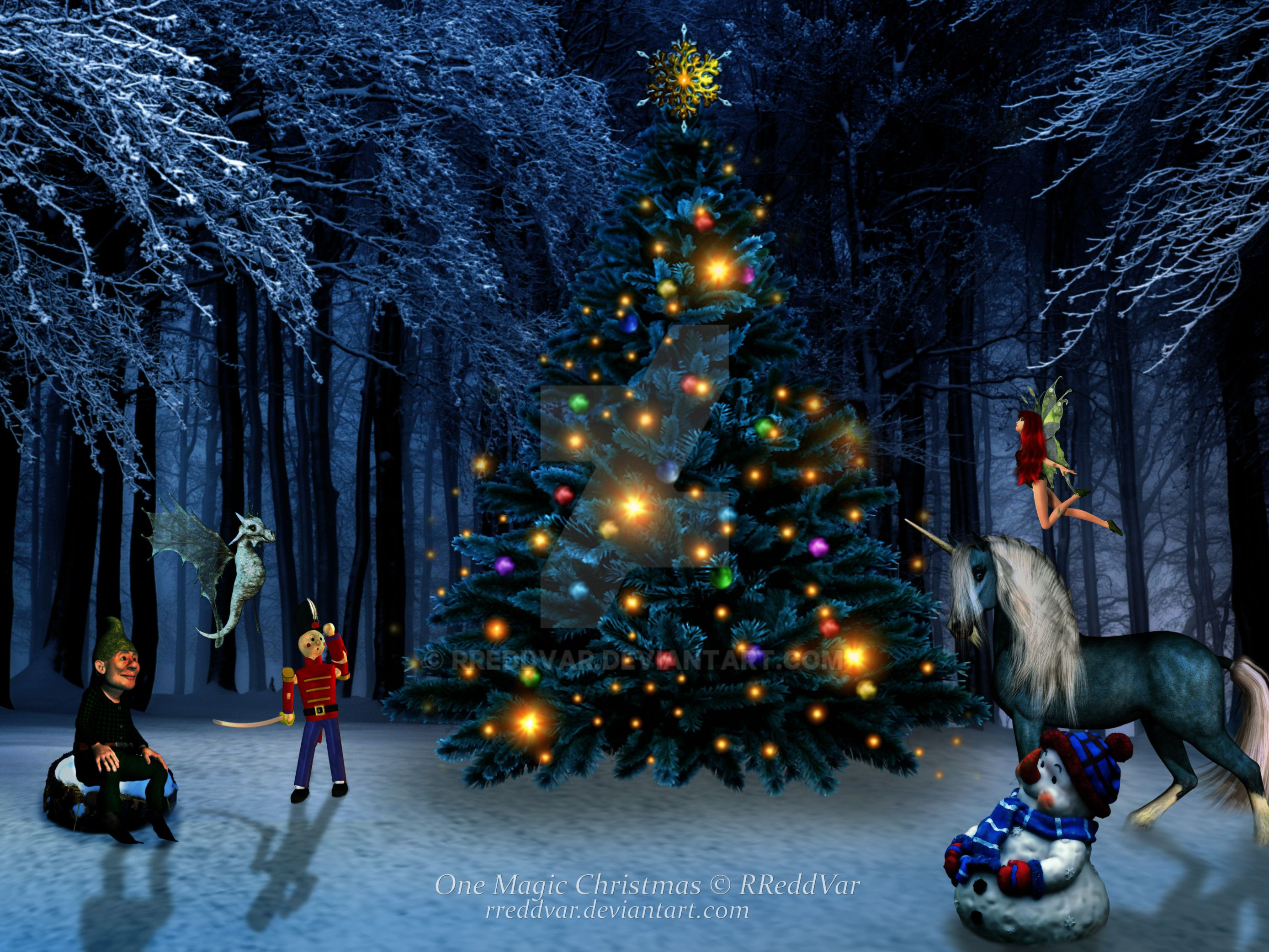 One Magic Christmas By RReddVar On DeviantArt - Magic Christmas Tree