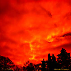 Fire in the Sky 1 by Okavanga