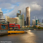 Melbourne River Sunset