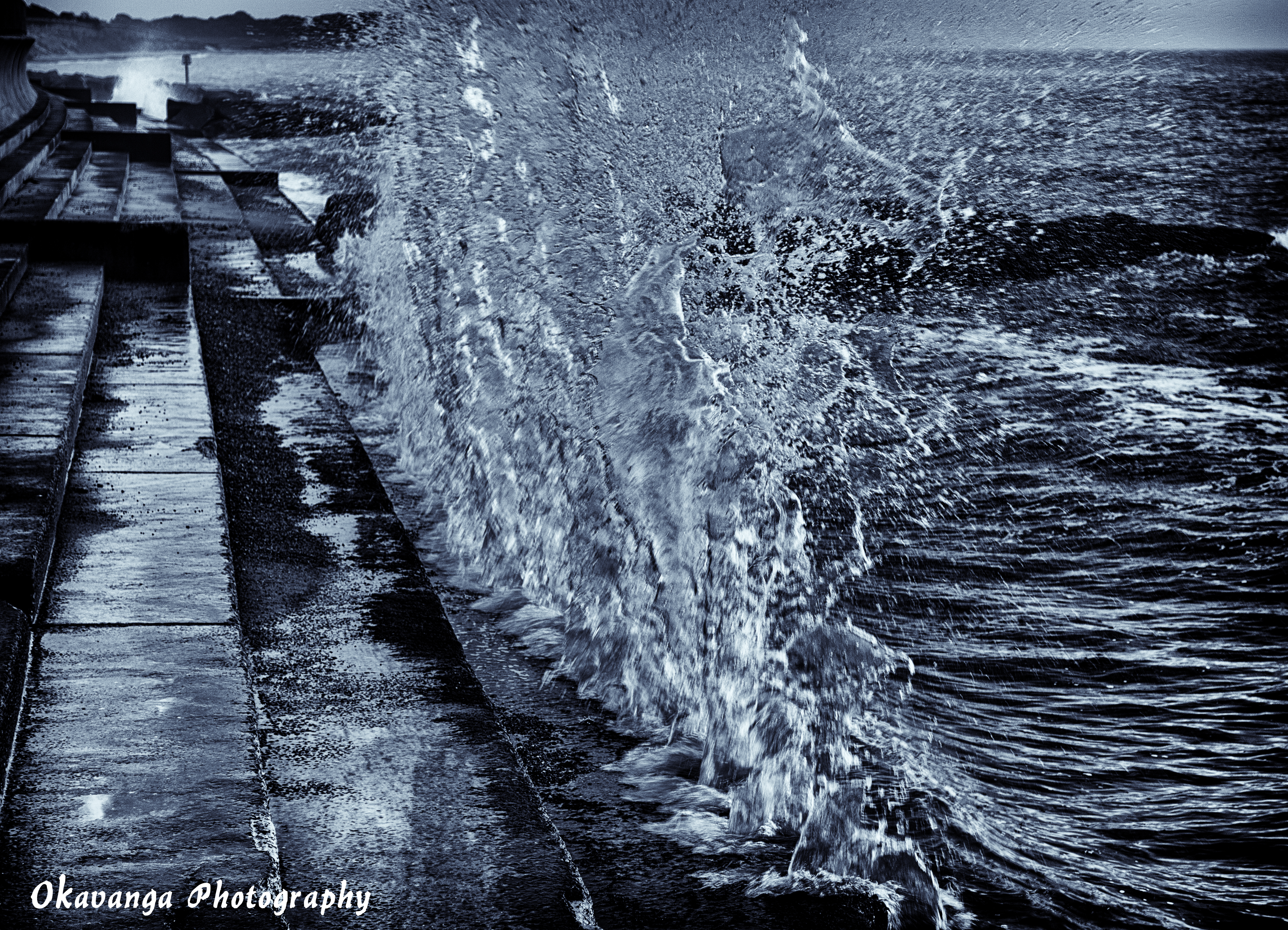 A Wave from Southwold 3 by Okavanga