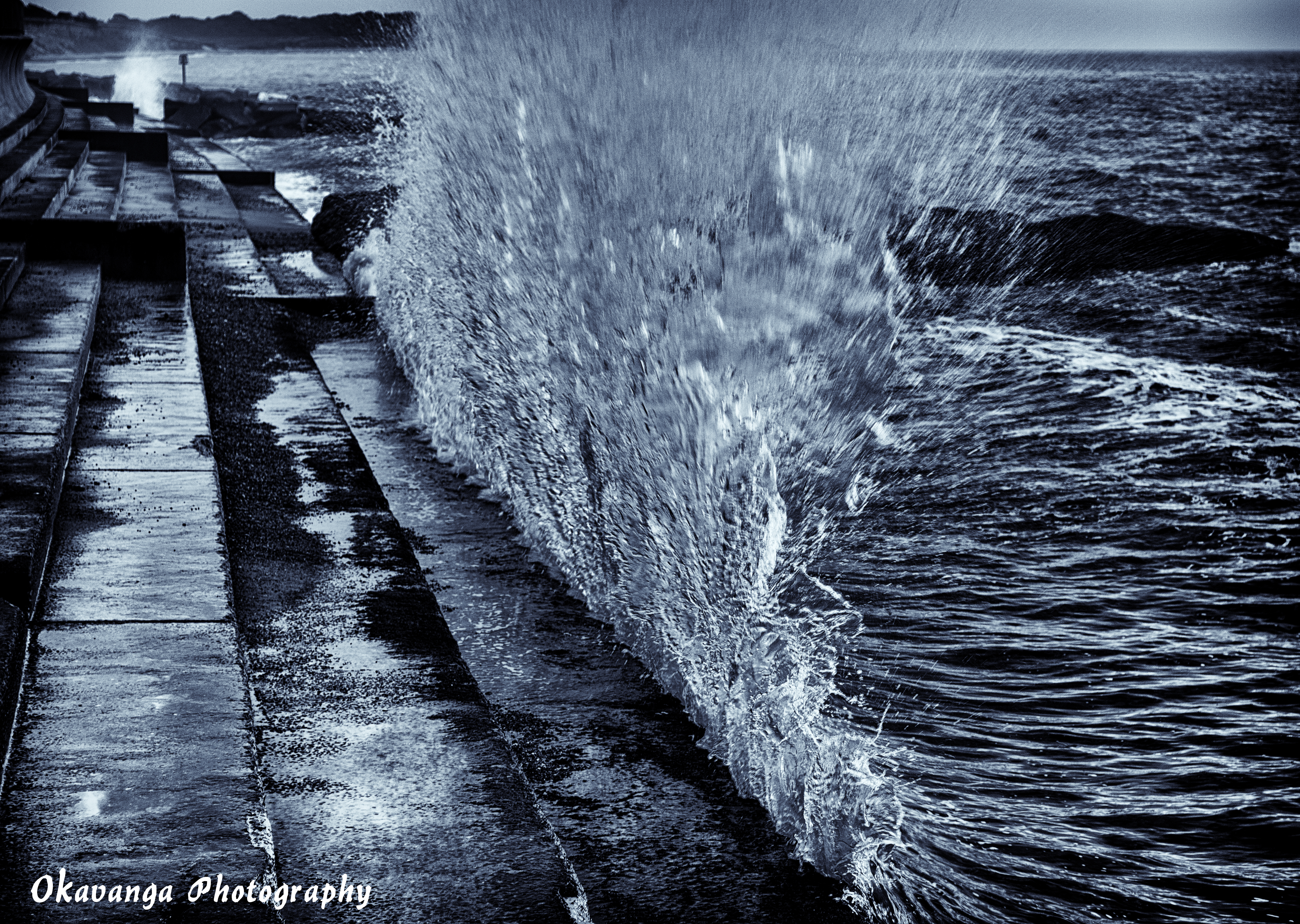 A Wave from Southwold 2 by Okavanga