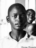 Maasai Schoolboy 2 by Okavanga