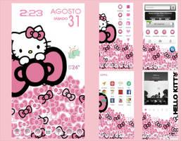 Hello Kitty Android HomeScreen