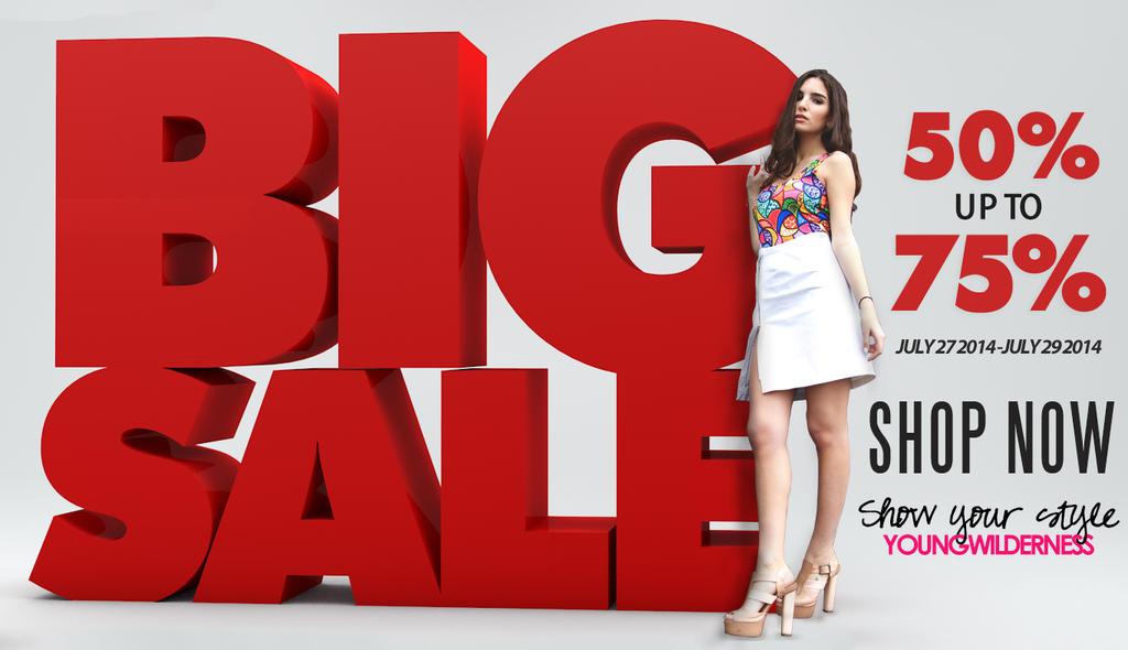 Big Sale Advertisment by otreica on DeviantArt