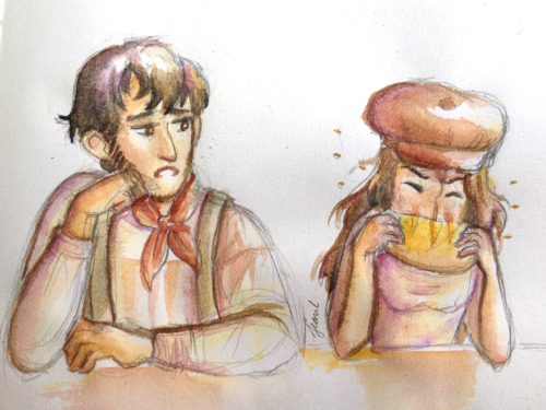 Les Mis: Eat Your Bread, 'Ponine by WithSkechers
