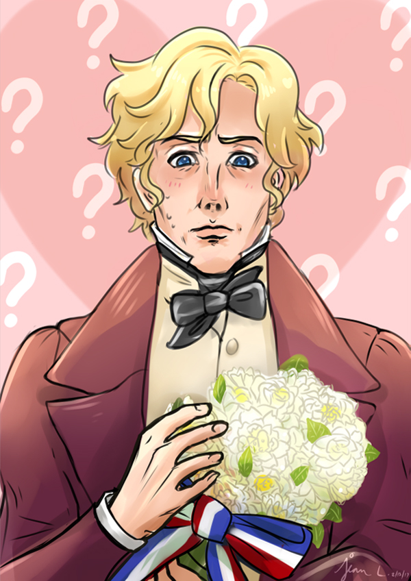Les Mis: Enjolras Valentines by WithSkechers