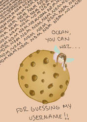 you can haz cookie ocean by T3F1