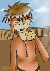 Pirate with a cookie by T3F1