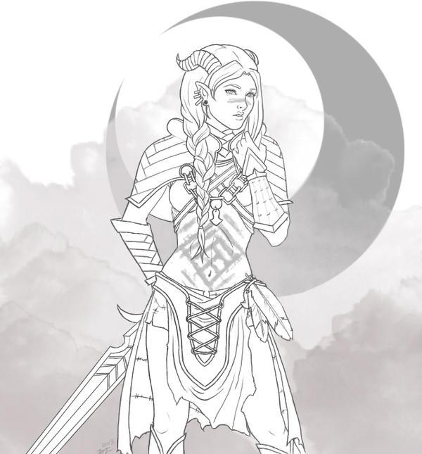 Dragon Age - Qunari by maicakes