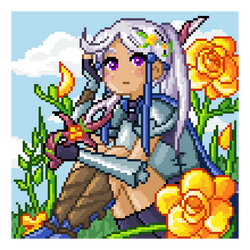 Flower Knight by maicakes