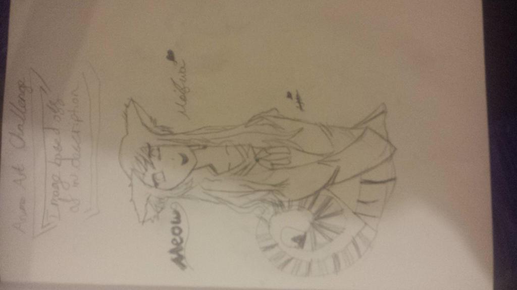 Meifwa Girl | Anime Art Challenge by CatsandAnimeLover