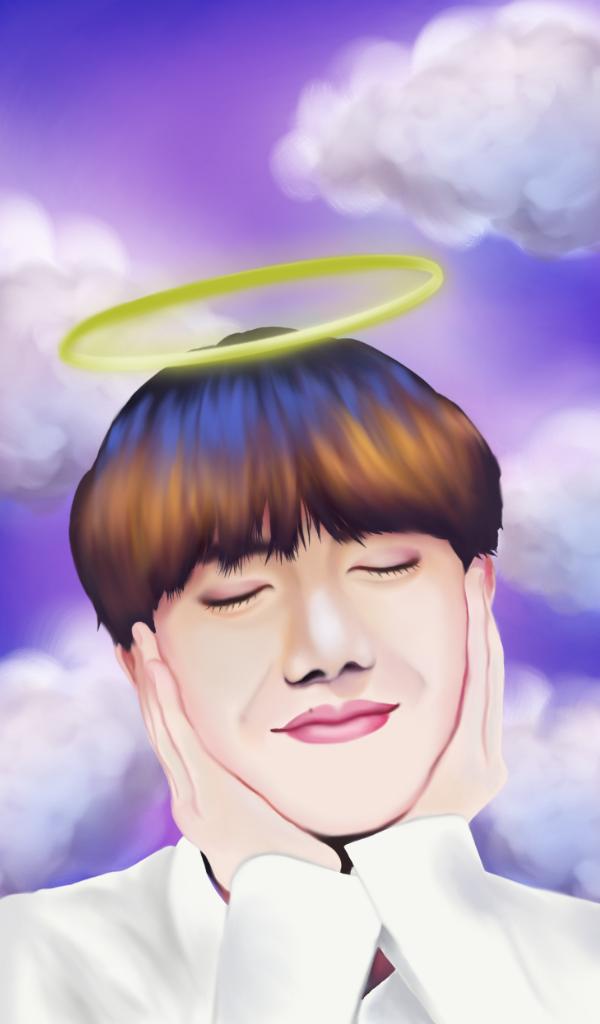 My angel~ by Hopeful-Jerico