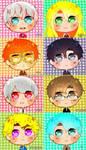 Mystic Messenger Chibi Icon by AnimexL0ver17