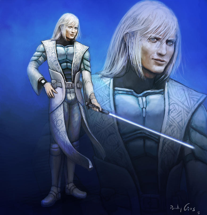 Commission - Male Echani Jedi by RudyCrus on DeviantArt