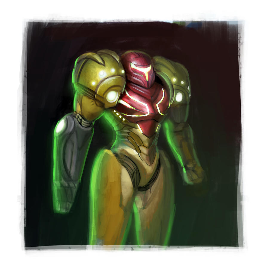Metroid Samus 01 by RudyCrus