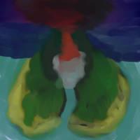Volcano... or something else? by ArkanaStrife