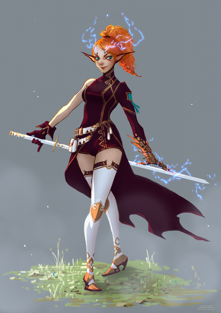 Storm Dragonica by Leventart