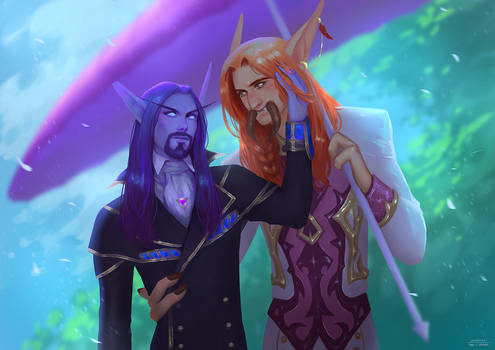 Commission: WoW Couple