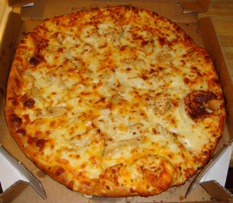 Buffalo Chicken Pizza by Wanizame on DeviantArt