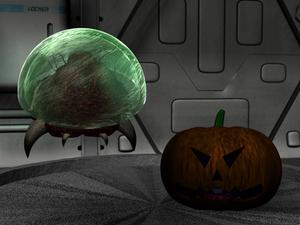Metroid meets Pumpkin