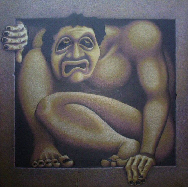Man in a box by visionality
