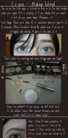 Death Note: L's Eyes Tutorial by EndofForever