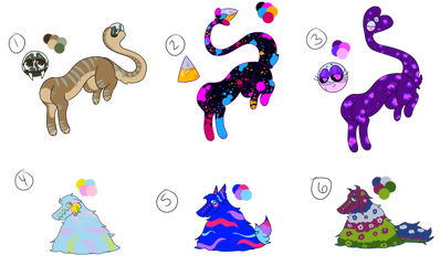 Gloabie and Fluffle Adopts (5/6 OPEN!!)