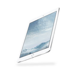iPad Air 2 Mock-up Silver by theanthnonyrich