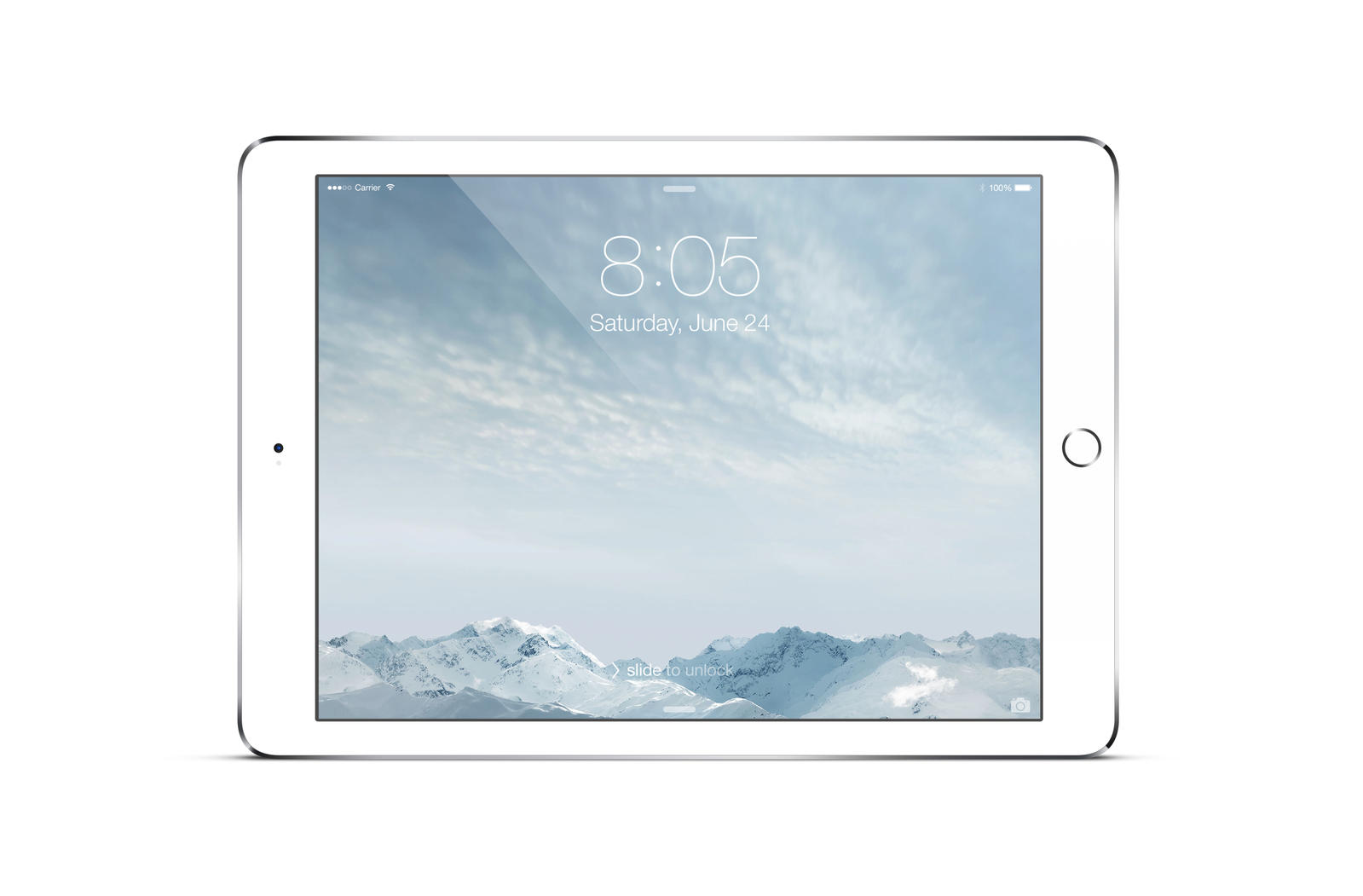 Ipad Air 2 Mock Up Silver By Theanthnonyrich On Deviantart