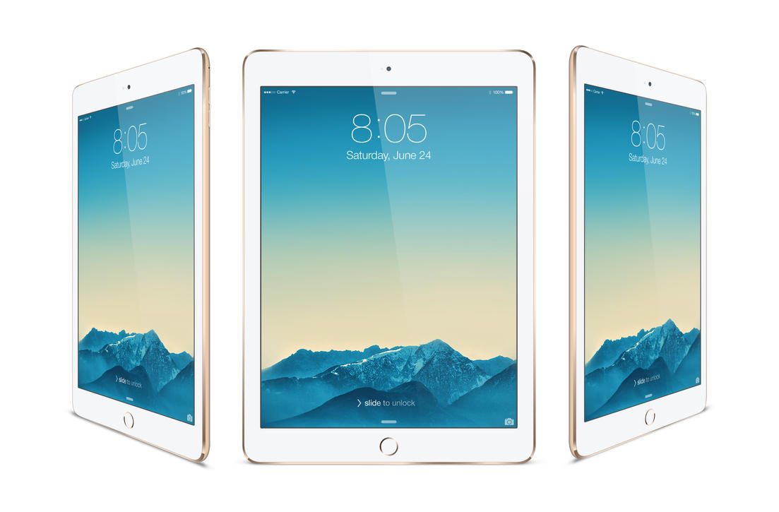 IPad Air 2 Mock-up Gold By Theanthnonyrich On DeviantArt