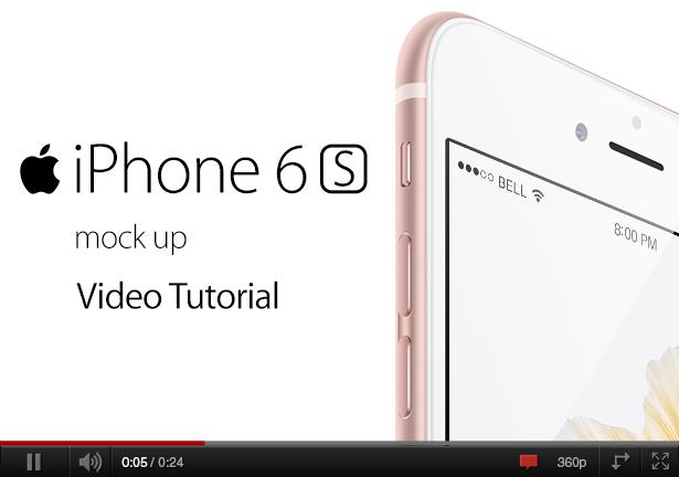 Phone 6s Mock-up (Displays)