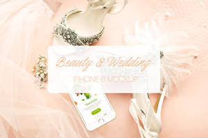 Wedding and Beauty iPhone 6 Mockup by theanthnonyrich