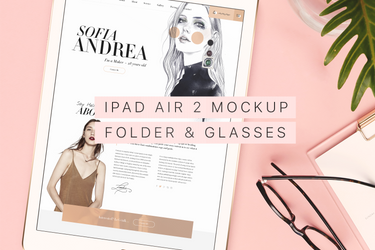 Beautiful and Trendy iPad Air 2 Mockup by theanthnonyrich